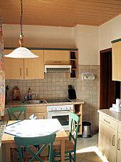 Küche - Ferienwohnung in Dresden / Weixdorf mit Bad/WC, Fernseher und Radio